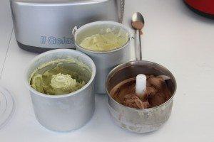 aftagelig skål til ismaskine