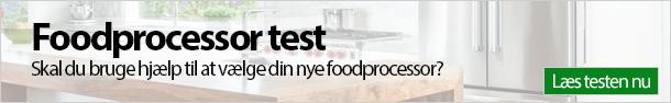 Foodprocessor test banner