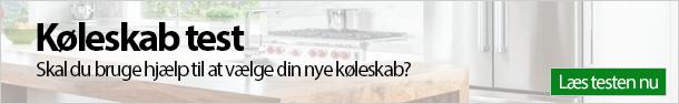Køleskab test banner