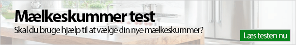 Mælkeskummer test banner