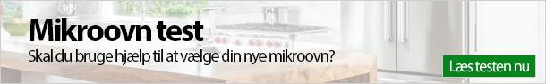 Mikroovn test banner