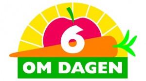 6 stykker frugt eller grønt om dagen