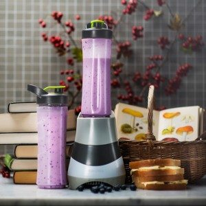 Blender med smoothie
