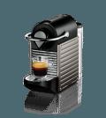 Nespresso Pixie C60 Titan espressomaskine