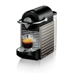 Nespresso Pixie C60 Titan kapsel kaffemaskine