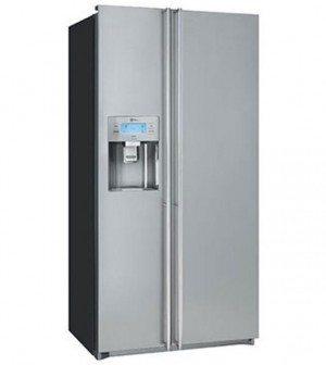 SMEG FA55XBIL3 amerikaner køleskab - MadMaskiner