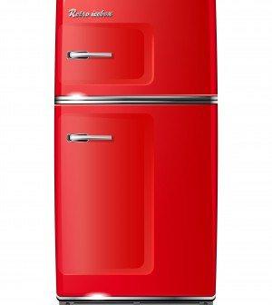 Retro-køleskab