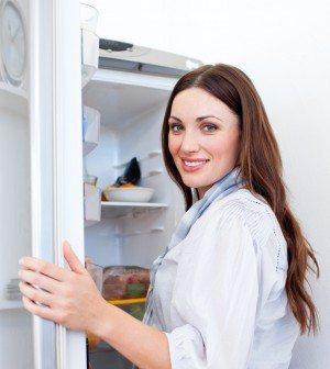 Integreret køleskab