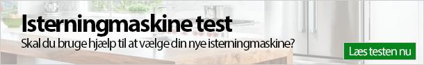 Isterningmaskine test