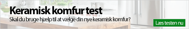 Keramisk komfur test
