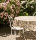 Terrasse med bord