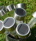 LED solcellelamper