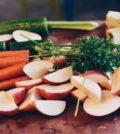 Råvarer der er blevet klargjort til madlavning