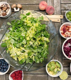 Salat og grøntsager