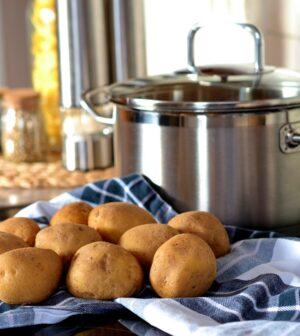Kartofler klar til kogning