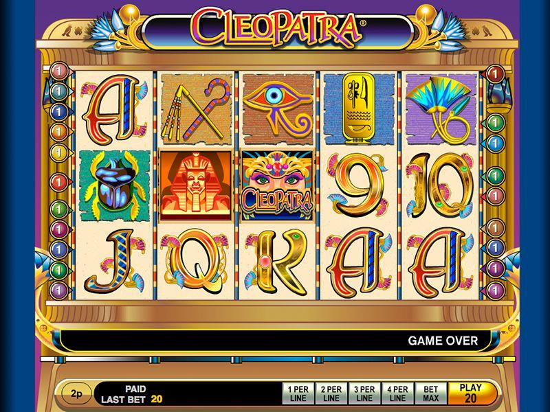 Cleopatra spillemaskine