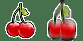 Kirsebær symbolerne